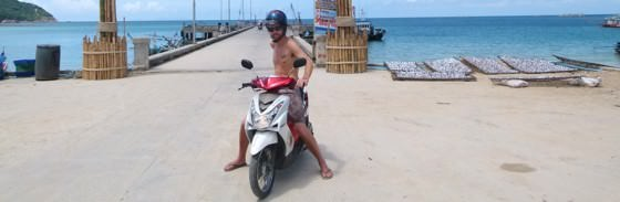 While Backpacking Thailand Consider Renting A Motorbike In Thailand
