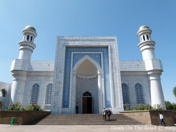 central mosque in almaty